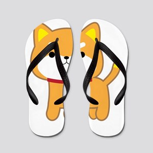 Year of the Dog Flip Flops