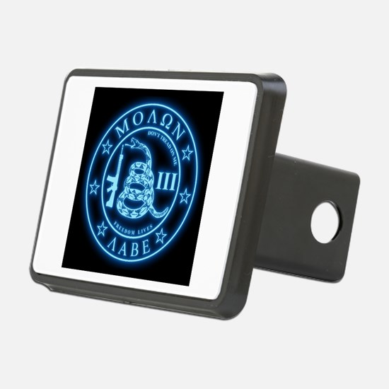 Come and Take It (Blueglow) Hitch Cover