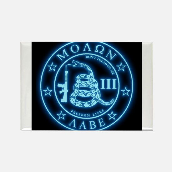 Come and Take It (Blueglow) Rectangle Magnet