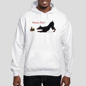 Dobe Wanna Play Hooded Sweatshirt