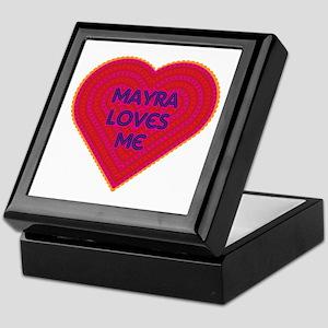 Mayra Loves Me Keepsake Box