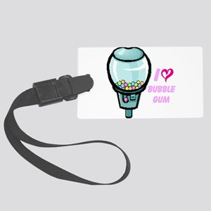 bubble gum day Luggage Tag