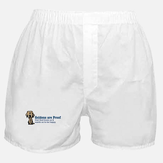 Goldens are Proof Boxer Shorts