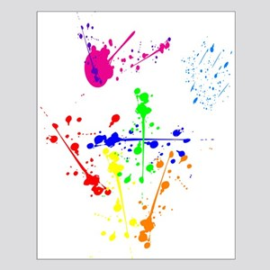 Colorful Splatter Posters