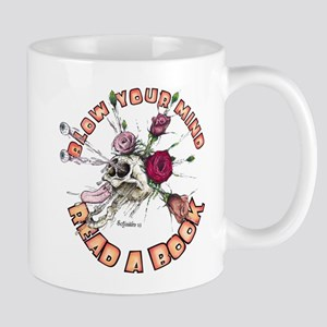 Blow Your Mind Read A Book Mug