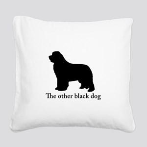 Newfoundland : The other black dog Square Canvas P