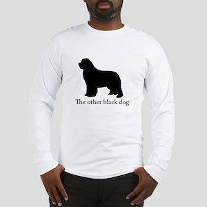Newfoundland : The other black dog Long Sleeve T-S