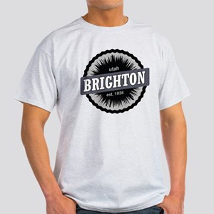 Brighton Ski Resort Utah Black T-Shirt