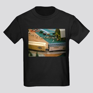 Cows Watch Train Go By T-Shirt