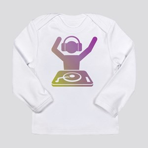 Colorful DJ Long Sleeve T-Shirt