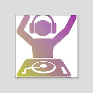 Colorful DJ Sticker