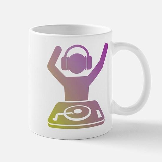 Colorful DJ Mug