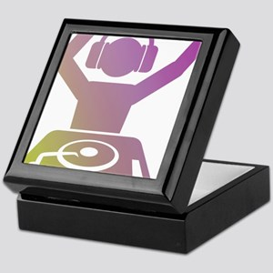 Colorful DJ Keepsake Box