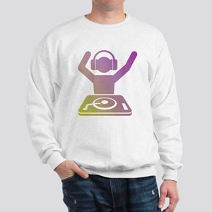 Colorful DJ Sweatshirt