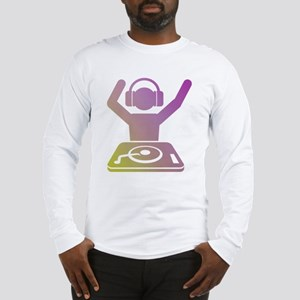 Colorful DJ Long Sleeve T-Shirt