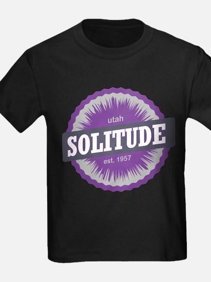 Solitude Ski Resort Utah Purple T-Shirt