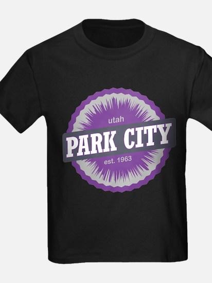 Park City Mountain Ski Resort Utah Purple T-Shirt