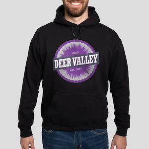 Deer Valley Ski Resort Utah Purple Hoodie