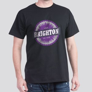 Brighton Ski Resort Utah Purple T-Shirt