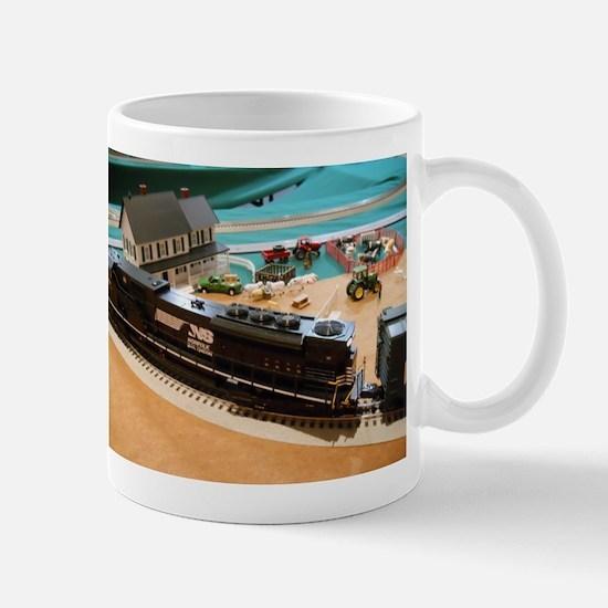 Farmhouse & Trains Mug