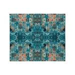Subaqueous Kaleidoscope Throw Blanket