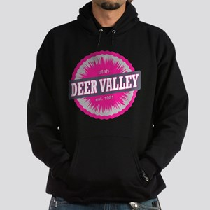 Deer Valley Ski Resort Utah Pink Hoodie