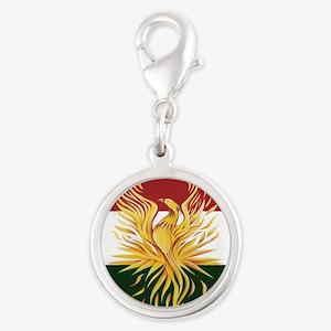 Kurdish Flag Phoenix R Charms
