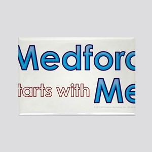 Medford Starts With Me Rectangle Magnet
