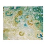 Sand and Surf Abstract Throw Blanket