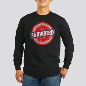 Snowbird Ski Resort Utah Red Long Sleeve T-Shirt