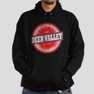 Deer Valley Ski Resort Utah Red Hoodie