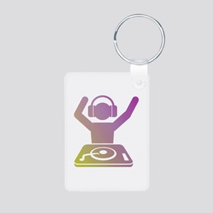Colorful DJ Keychains