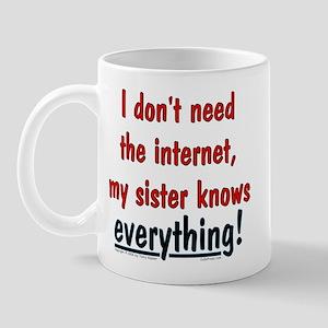 Sister/Everything Mug