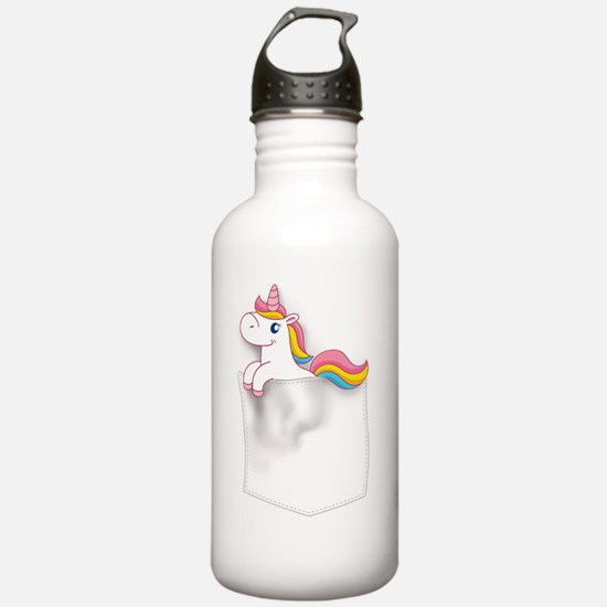 Cool Wishes do come true Water Bottle