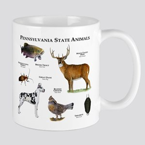 Pennsylvania State Animals Mug