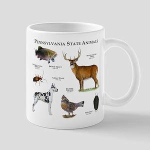Pennsylvania State Animals Mug