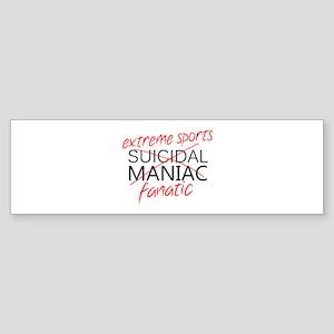 'Extreme Sports' Sticker (Bumper)