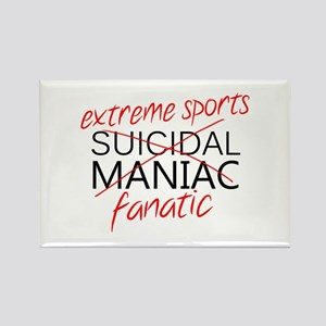 'Extreme Sports' Rectangle Magnet