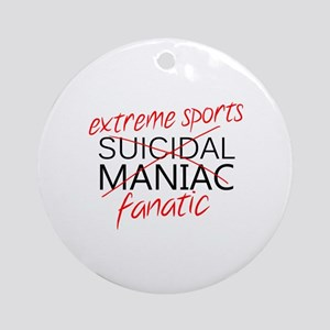 'Extreme Sports' Ornament (Round)