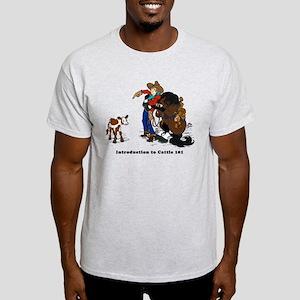 Cutting Horse Meeting Cow T-Shirt
