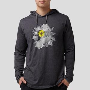 SUNNY MANATEE SHIRT Mens Hooded Shirt