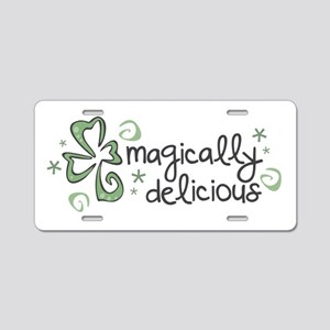 Magically Delicious Aluminum License Plate