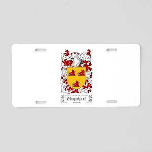 Urquhart Aluminum License Plate