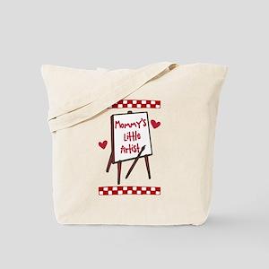 Mommy's Little Artist Tote Bag