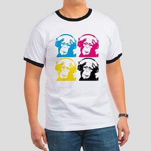 4 DJ monkeys T-Shirt