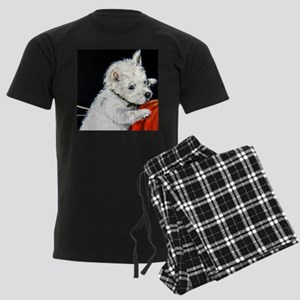 Pumpkin Pup Men's Dark Pajamas