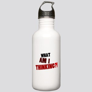 'What Am I Thinking?!' Stainless Water Bottle 1.0L