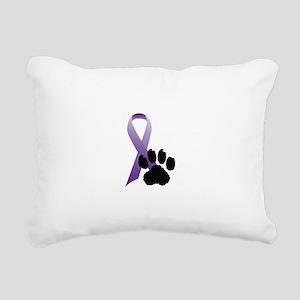 Purple-Ribbon-Pawprint-Black-Pawprint Rectangu