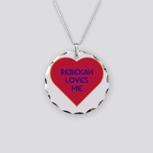 Rebekah Loves Me Necklace