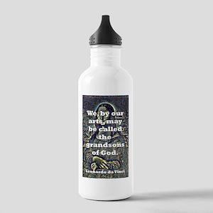 We By Our Arts - da Vinci Water Bottle